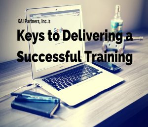 Keys to Delivering a Successful Training